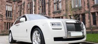 Rolls Royce Ghost (White)